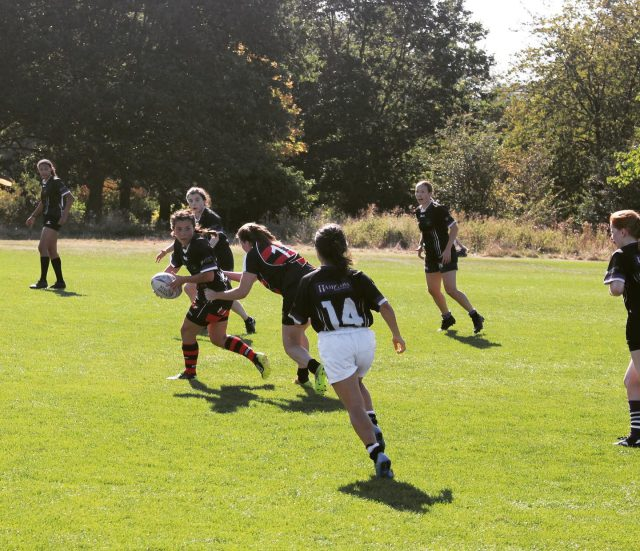 Women's first game