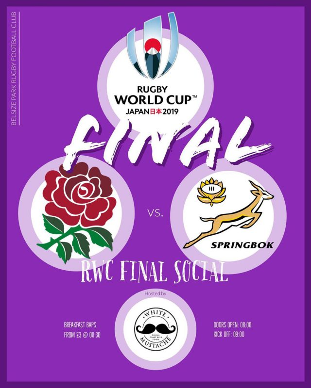 RWC Final at the White Mustache